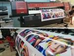 Máy in bạt 1m8 HongYing 2020 - anh Cường Gia Bảo tại Đà Nẵng