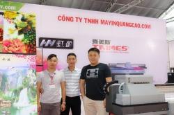 MayInQuangCao.com tham dự Triển lãm quốc tế VietBuild lần 1 năm 2018 - Thiết Bị In Ấn Quảng Cáo - Ngày cuối