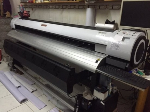 Bộ phận bộ phận xử lí hoạt động của máy in bạt khổ lớn