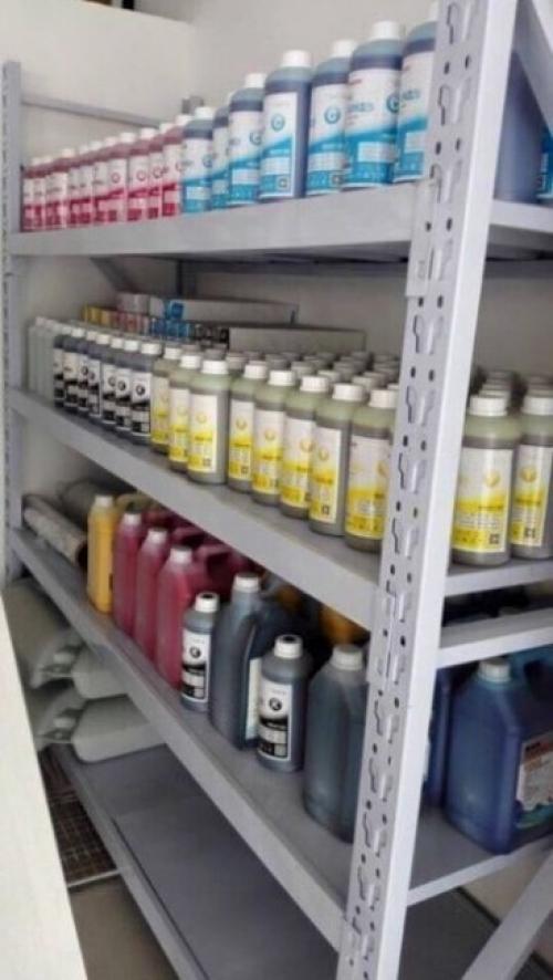 Các loại mực sử dụng trong máy in bạt