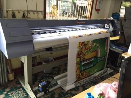 Máy in bạt đảm bảo sản phẩm in chất lượng
