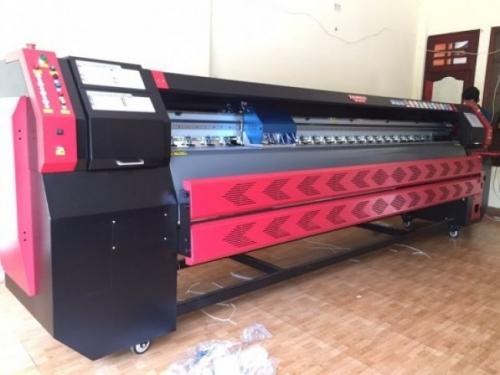 Máy in kỹ thuật số khỏ lớn màu đỏ công nghệ Nhật Bản