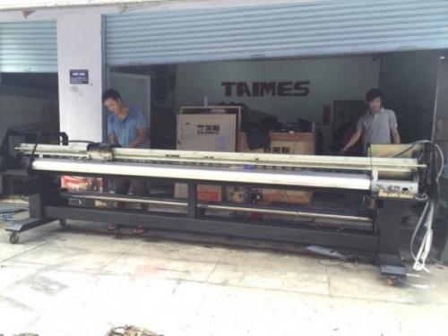 Máy in phun khổ 1.8m có thể in mẫu in với kích thước 1m8