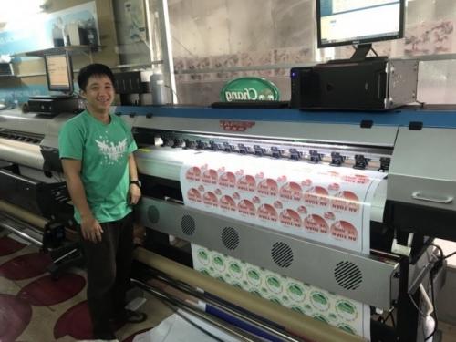 Mỗi khách hàng nhận máy in decal khổ nhỏ từ Máy In Quảng Cáo đều là một niềm hân hạnh của chúng tôi
