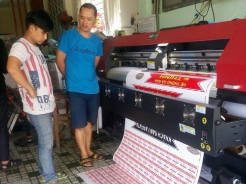 Công ty bán máy in decal TPHCM - Cung cấp máy in decal cho khách hàng