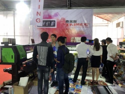 Công ty TNHH MayInQuangCao tại triển lãm quảng cáo tại nhà thi đấu Phú Thọ, TPHCM