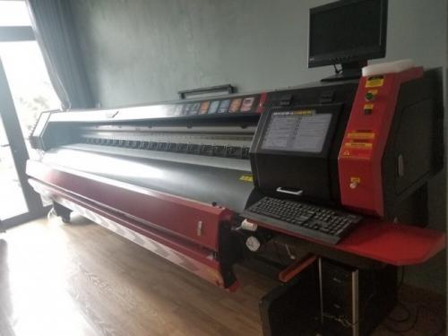 Máy in kỹ thuật số 3m2 - máy in bạt cỡ lớn tại chi nhánh Đà Nẵng - Công ty TNHH MayInQuangCao.com