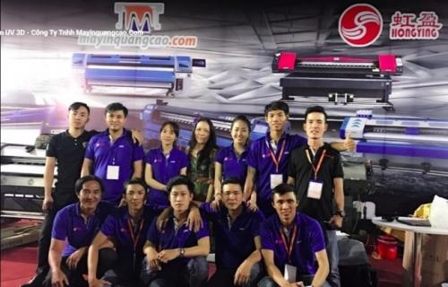 Đội ngũ nhân viên công ty MayInQuangCao.com