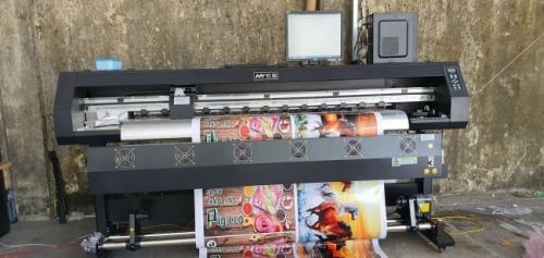 Bàn giao máy in phun má khổ 1m8 giá rẻ từ TPHCM về Đà Nẵng - Từ nhà nhập khẩu & phân phối máy in chuyên nghiệp Sài Gòn  - Ảnh: 3