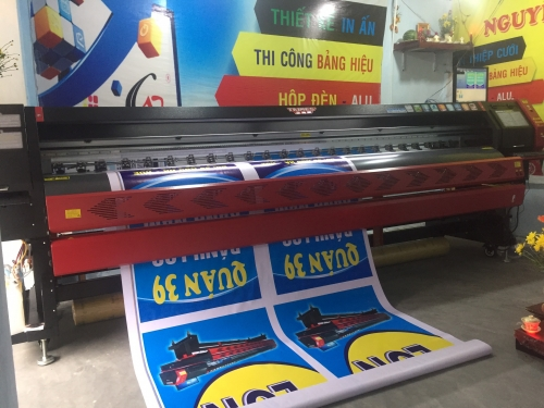 Máy in Taimes T5S khổ 3m2 - anh Thủy Vĩnh Long