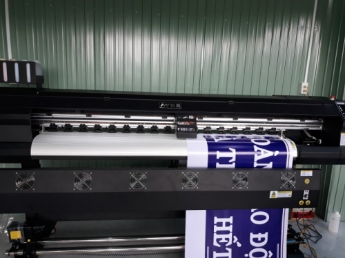 Máy in bạt khổ 1m8 giá rẻ - anh Tạo tỉnh Phú Yên - Ảnh: 1