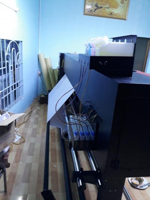 Máy in 1m8 HongYing body 2020 - anh Tâm quận 7 TPHCM - Ảnh: 2